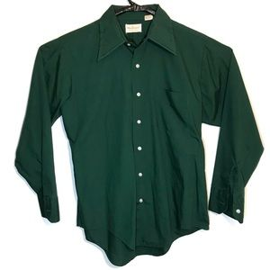 Vintage Marlboro Shirt Long Sleeve Button Down L